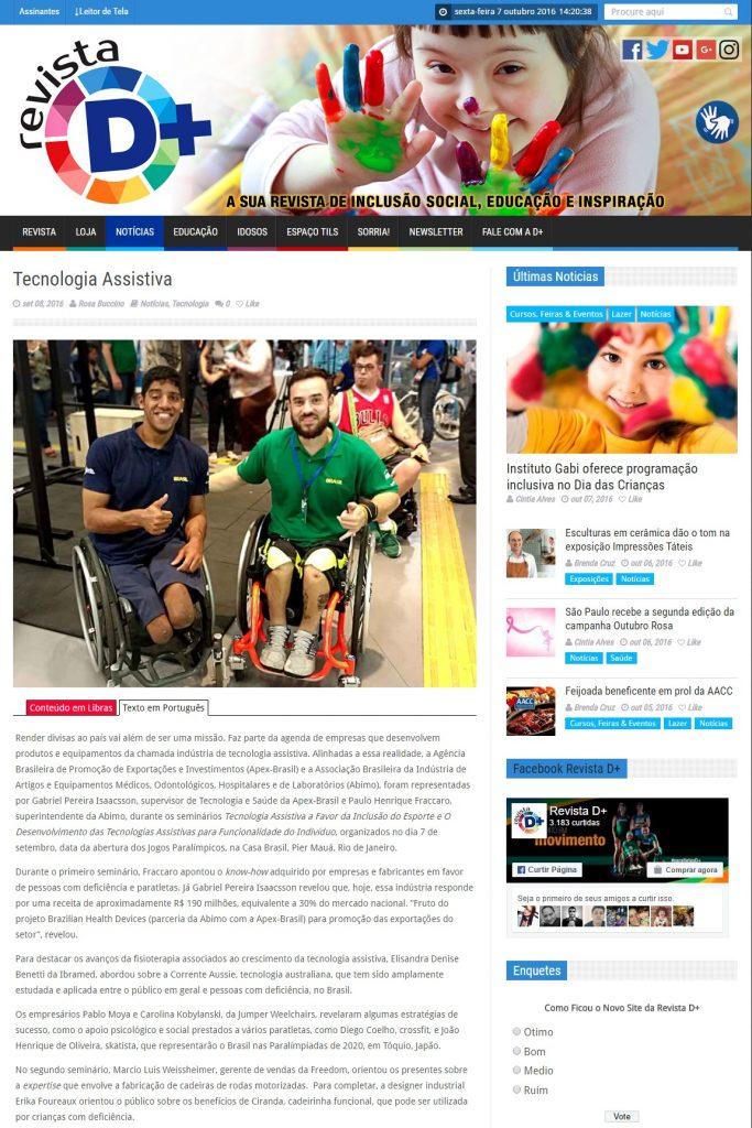 Revista D+ Online